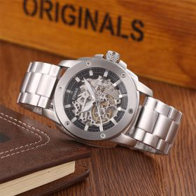 Modern Machine Automatic Skeleton Dial Men's Watch ME3081-Ms: 2045200