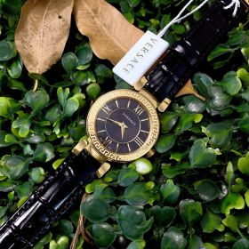 Đồng hồ Versace Leather watch dây da - Ms: 096750