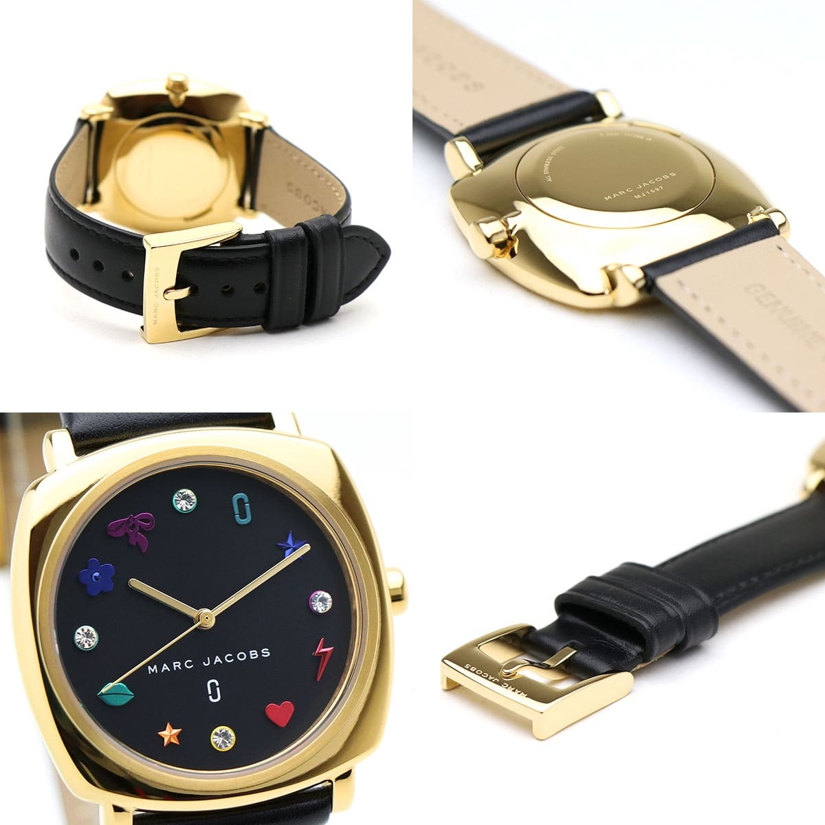 Hinh anh thuc Marc Jacobs Ladies Mandy Leather Watch MJ1597 voi nhung i con ms 095600