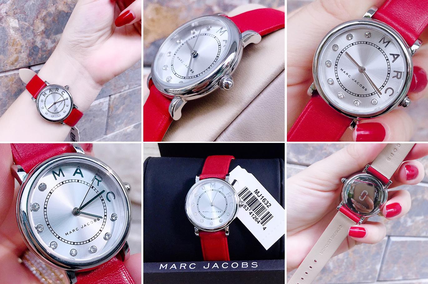 Hinh-anh-thuc-te-dong-ho-Marc-Jacobs-Classic-mau-do-MJ1632