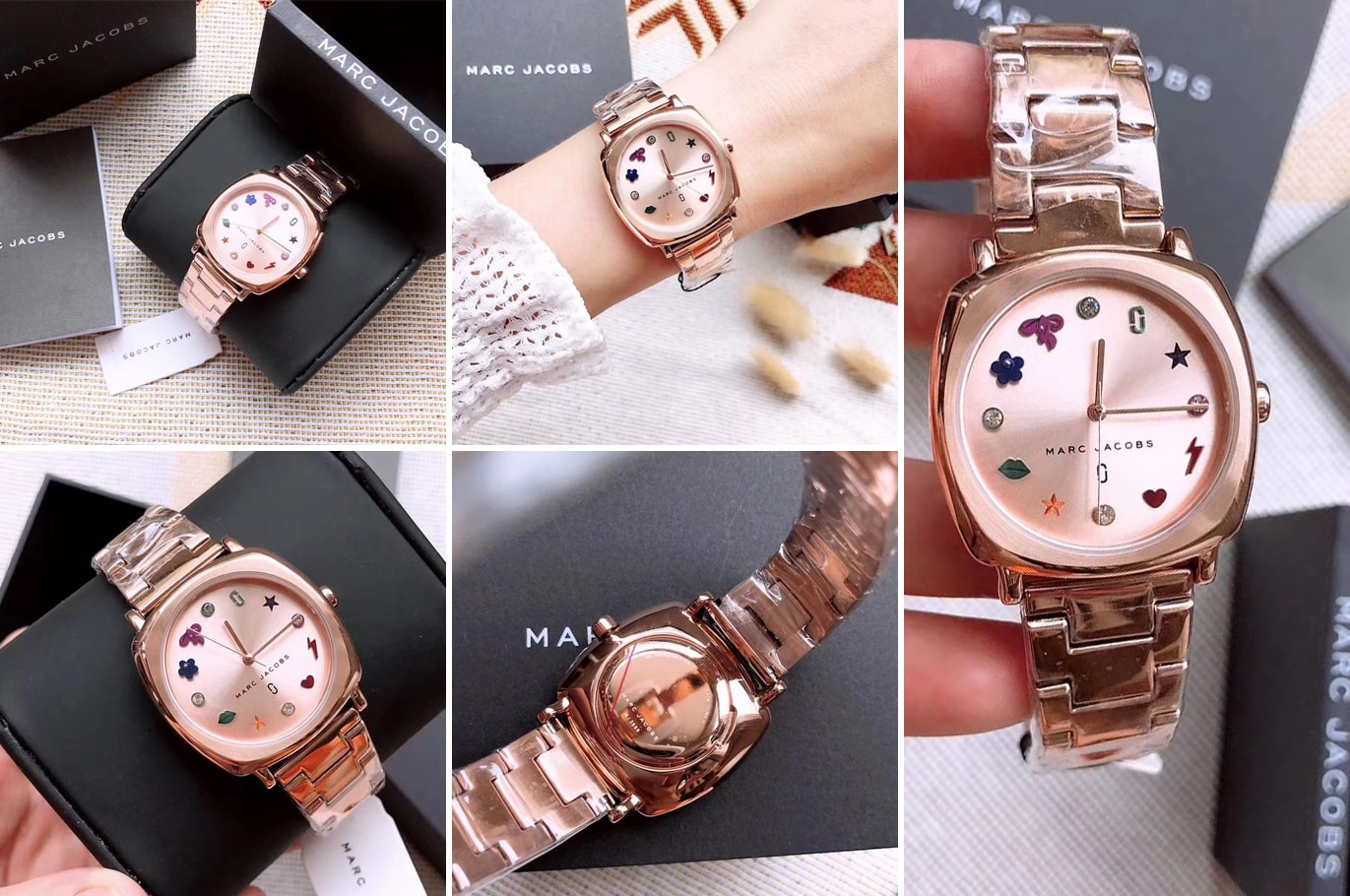 Hinh anh thuc te dong ho Marc Jacobs Ladies Mandy Watch MJ3550  ms 099850