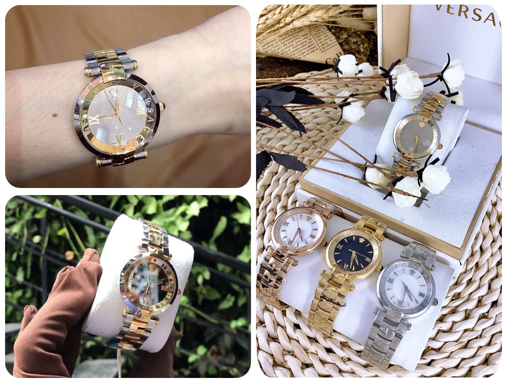 Hinh anh thuc te dong ho Versace Revive Watch Ms 1069900
